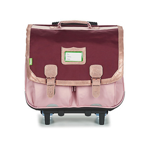 Tann's PALERMO TROLLEY CARTABLE 41 CM girls's Children's Rucksack in Pink