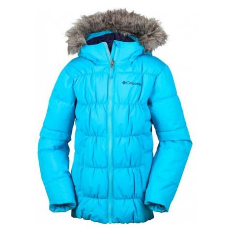 Columbia GYROSLOPE JACKET blue - Kids' winter jacket