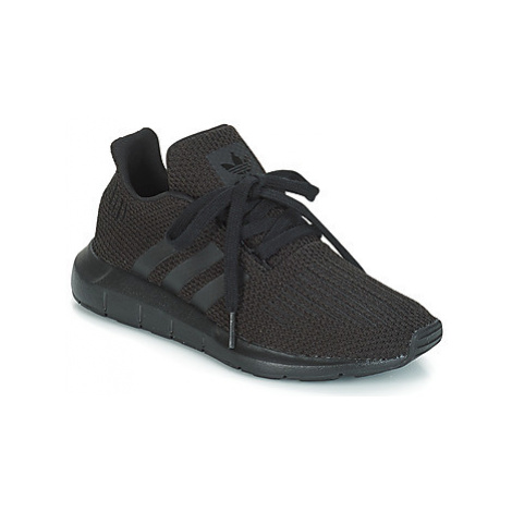 Adidas SWIFT RUN J girls's Children's Shoes (Trainers) in Black