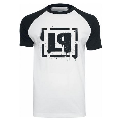 Linkin Park LP Logo T-Shirt white black