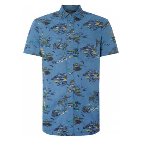 O'Neill LM TROPICAL S/SLV SHIRT blue - Men's shirt