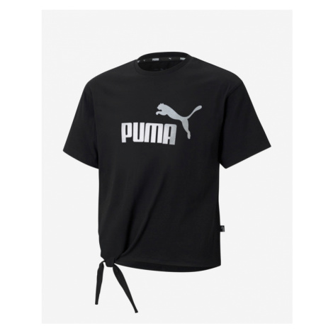 Puma Essentials+ Logo Silhouette Kids T-shirt Black