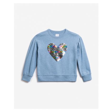 Blue girls' sweatshirts and hoodies