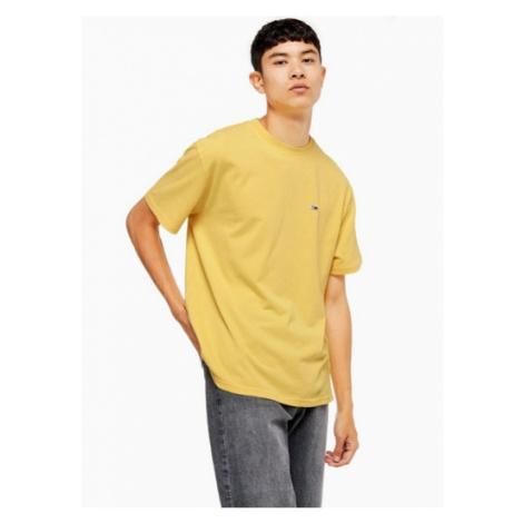 Mens Tommy Hilfiger Yellow T-Shirt, Yellow