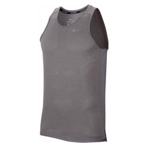 Nike DRY COOL MILER TANK gray - Men's tank top