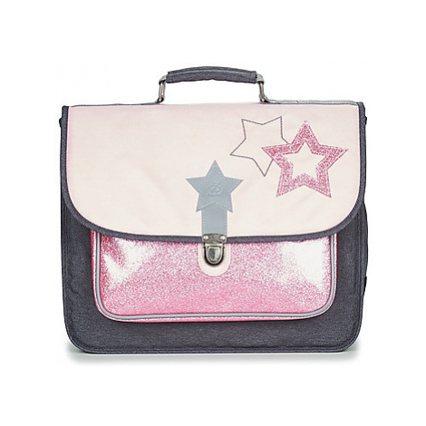 Citrouille et Compagnie SCUOLA 38 CM girls's Briefcase in Pink