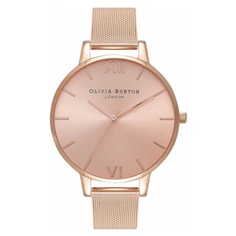 Olivia Burton Women's Sunray Dial Watch - Rose Gold