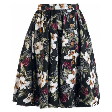 Hell Bunny - Tahiti Skirt - Skirt - black