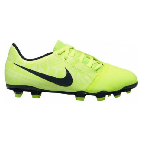 Green soccer equipment