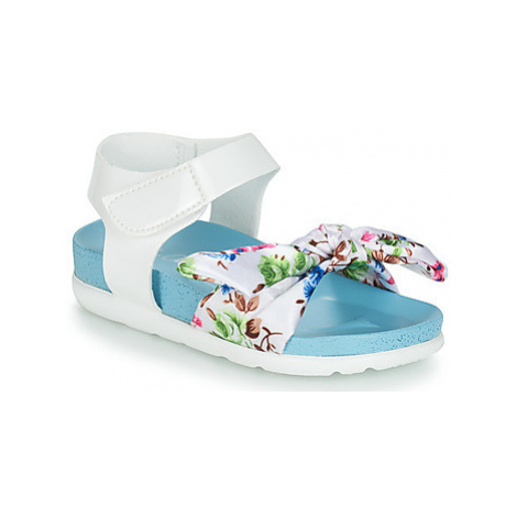 Be Only AGATHEA girls's Children's Sandals in White