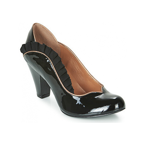 Cristofoli VERNIZ METALISADO women's Court Shoes in Black Cristófoli