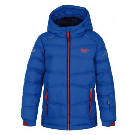 Loap FALDA blue - Children's winter jacket