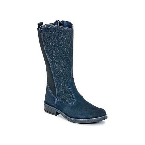 Citrouille et Compagnie HASI girls's Children's High Boots in Blue