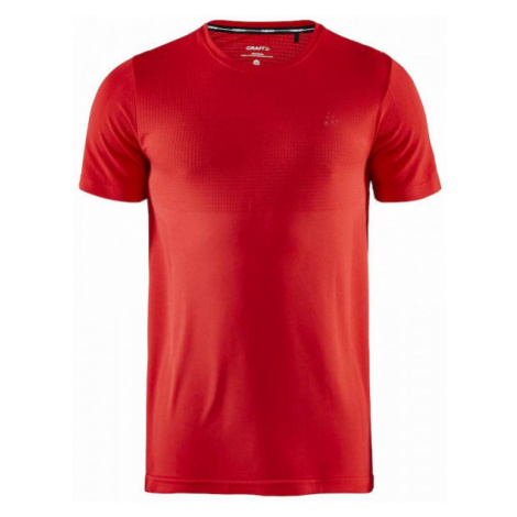 Craft FUSEKNIT LIGHT SS red - Men's functional T-shirt