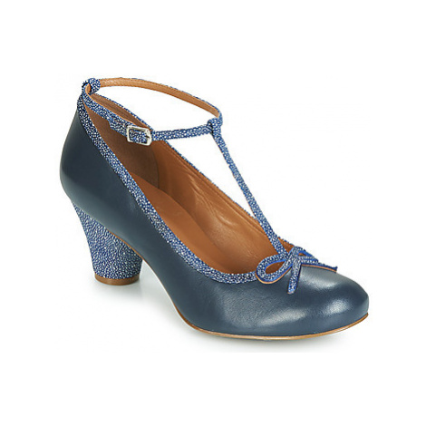 Cristofoli ROSSI women's Court Shoes in Blue Cristófoli