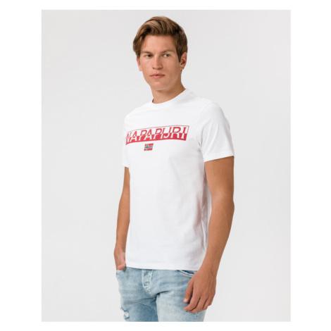 Napapijri Saras Solid T-shirt White