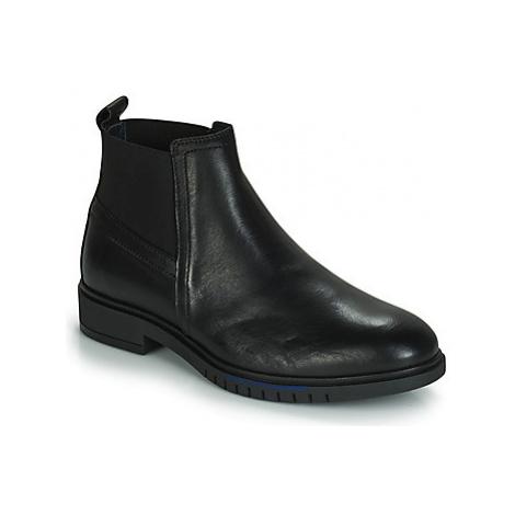 Tommy Hilfiger FLEXIBLE DRESSY LEAT women's Mid Boots in Black