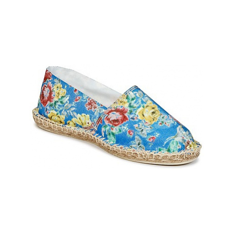 Art of Soule PRINT women's Espadrilles / Casual Shoes in Blue