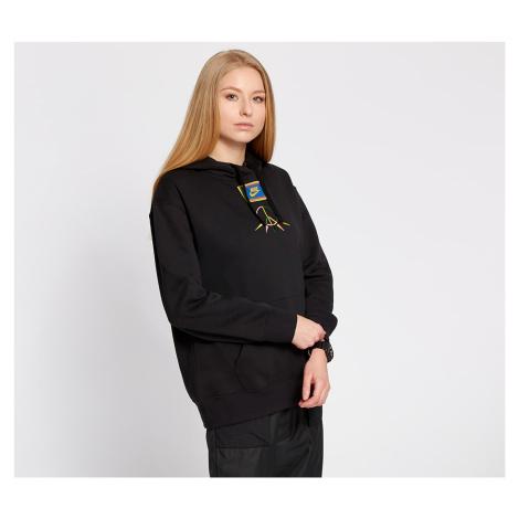 Nike Sportswear Peace Pack Fleece BB Hoodie Black/ Green Spark