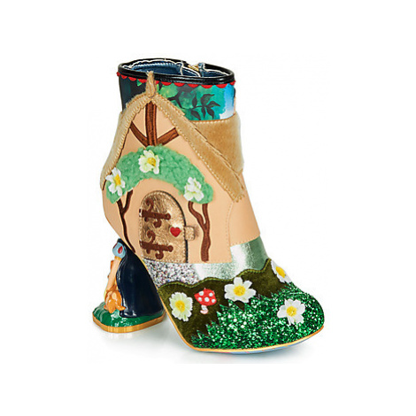 Irregular Choice HAPPILY EVER AFTER women's Low Ankle Boots in Green