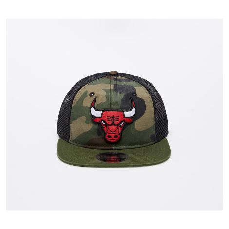 New Era 9Fifty NBA Chicago Bulls Trucker Washed Camo