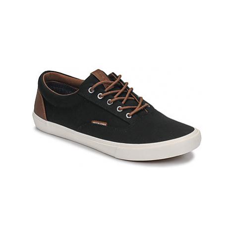 Jack Jones VISION CLASSIC MIXED men's Shoes (Trainers) in Black Jack & Jones