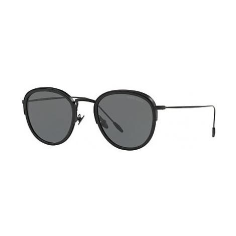 Giorgio Armani AR6068 Men's Frames of Life Round Sunglasses