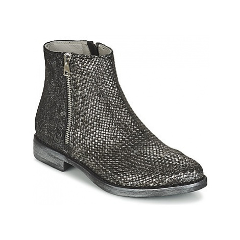 Now PADIDON women's Mid Boots in Silver