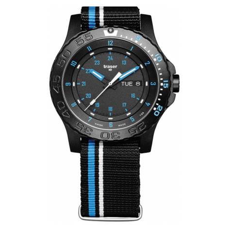 Traser H3 Watch Tactical Adventure P66 Blue Infinity