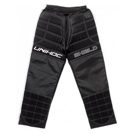 Unihoc SHIELD PANTS black - Football goalkeeper pants