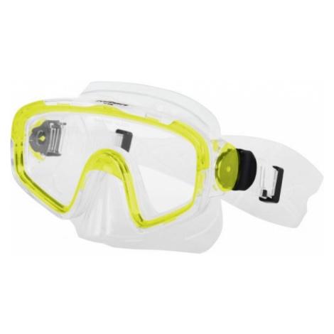 Miton TRITON yellow - Diving mask