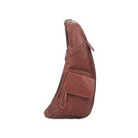 Brown men's lifestyle backpacks