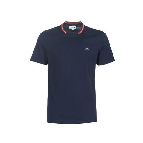 Lacoste TH8560 men's T shirt in Blue