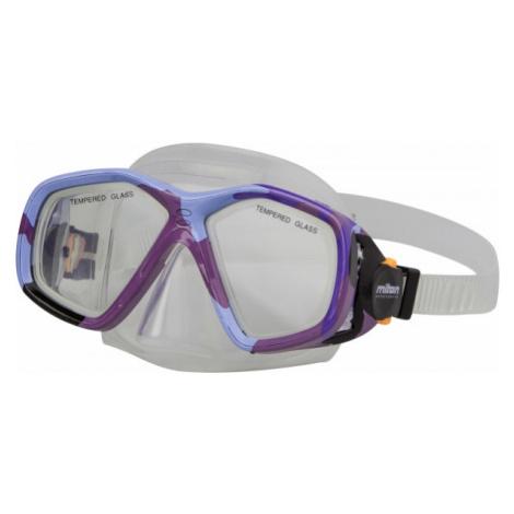 Miton BALI violet - Children's diving mask