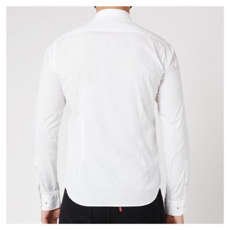 BOSS Athleisure Men's Biado_R Regular Fit Shirt - White Hugo Boss