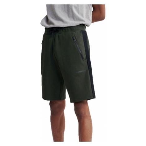 Superdry URBAN TECH SHORT dark green - Men's shorts