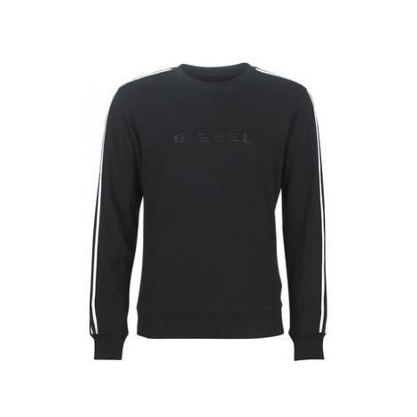 Diesel WILLY men's Sweatshirt in Black
