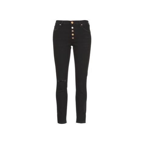 Diesel BABHILA women's Skinny Jeans in Black