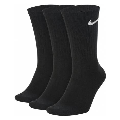 Nike Everyday Lightweight Training Crew Socks (3 Pairs) - Black