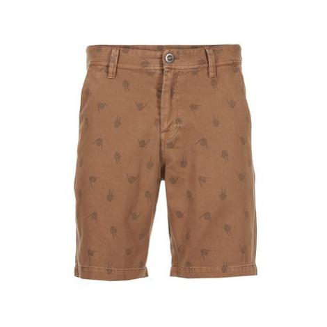 Volcom FRICKIN REGULAR ART men's Shorts in Brown