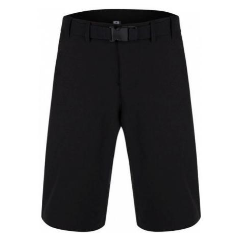 Loap UDET black - Men's outdoor shorts