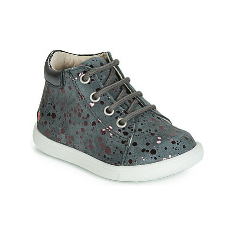 GBB NICKY girls's Children's Shoes (High-top Trainers) in Grey