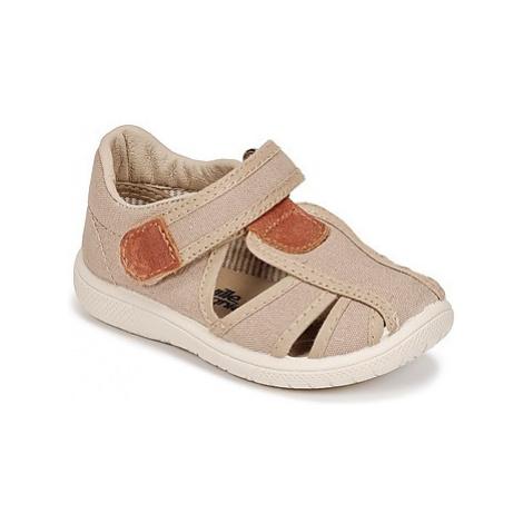 Citrouille et Compagnie GUNCAL boys's Children's Sandals in Beige