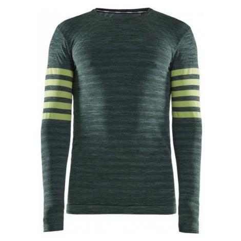 Craft FUSEKNIT COMFORT LS dark green - Men's functional T-shirt