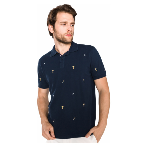 Tommy Hilfiger Celebrative Polo Shirt Blue