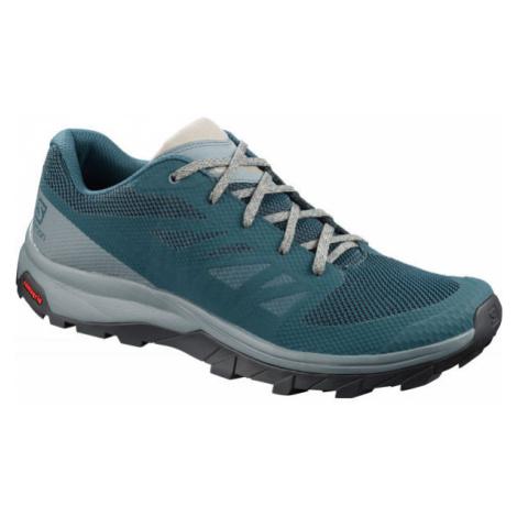 Salomon OUTLINE blue - Men's shoes