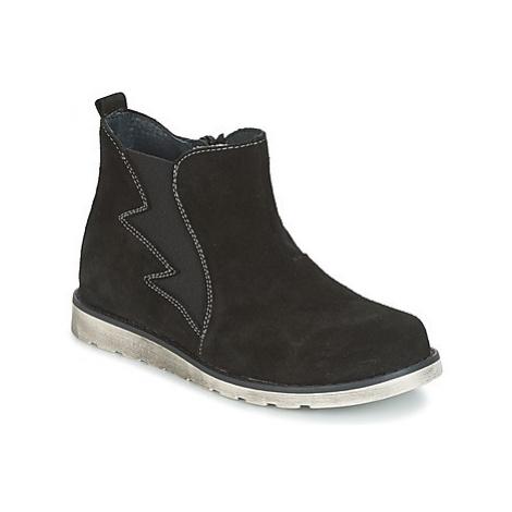 Citrouille et Compagnie HISSA boys's Children's Mid Boots in Black