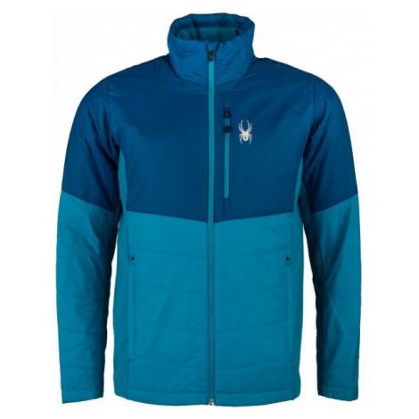 Spyder M GLISSADE HYBRID blue - Men's jacket