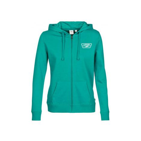 Vans WM FULL PATCH CLASSI women's Sweatshirt in Green