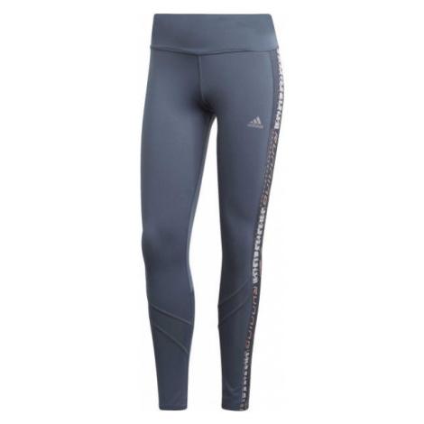 adidas OWN THE RUN TGT blue - Women's running leggings